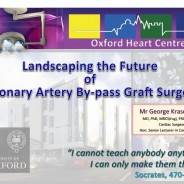 My latest lecture at the Nuffield Department of Surgical Sciences, University of Oxford.